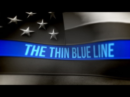Image result for the thin blue line