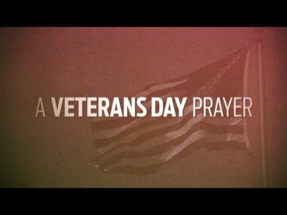 A VETERANS DAY PRAYER