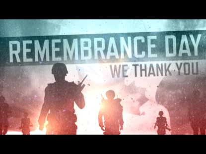 REMEMBRANCE DAY (WE THANK YOU)
