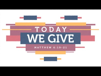 TODAY WE GIVE