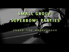 SMALL GROUP SUPER BOWL PARTIES 1