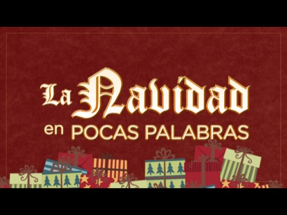 LA NAVIDAD EN POCAS PALABRAS