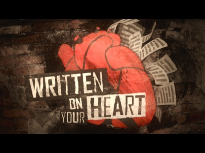 Preview for WRITTEN ON YOUR HEART