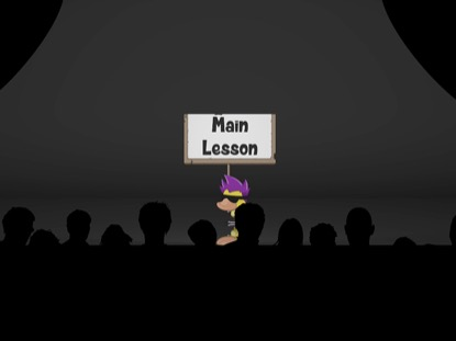 MAIN LESSON