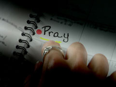 PRAY WHERE YOU ARE