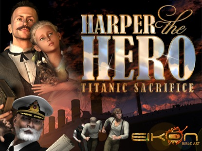TITANIC HARPER THE HERO