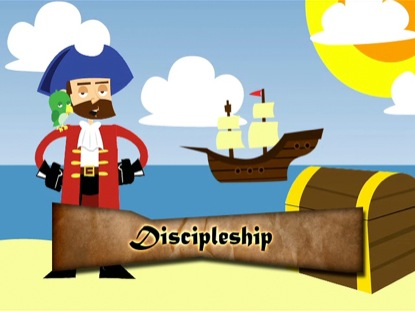 CAPTAIN DIGGIN TEACHES ON FOLLOWING GOD