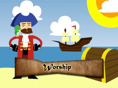 CAPTAIN DIGGIN TEACHES ON THE IMPORTANCE OF WORSHIP
