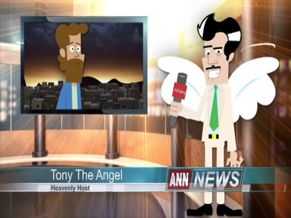 CHRISTMAS TONY THE ANGEL INTERVIEWS JOSEPH