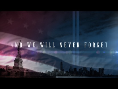 AND WE WILL NEVER FORGET