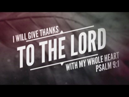 Preview for THANKSGIVING SCRIPTURE