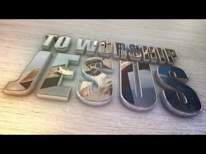 TO WORSHIP JESUS