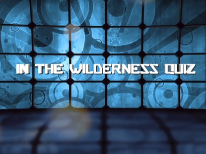 BIBLE QUIZ: IN THE WILDERNESS