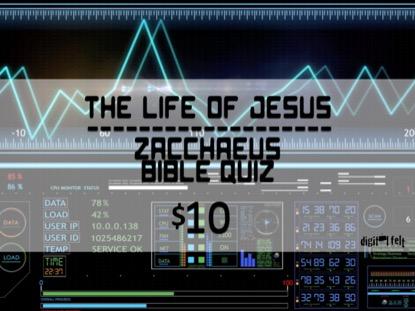 BIBLE QUIZ: ZACCHAEUS
