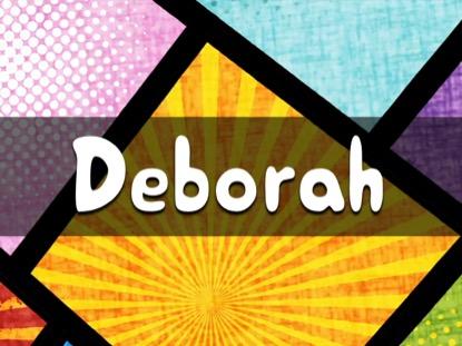 BIBLE QUIZ DEBORAH