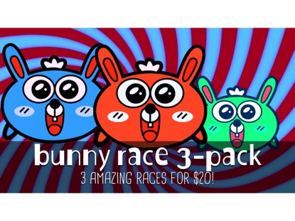 BUNNY RACE 3 PACK