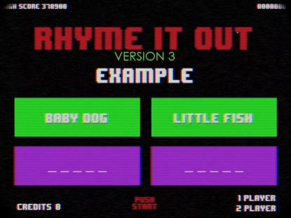 RHYME IT OUT VERSION 3