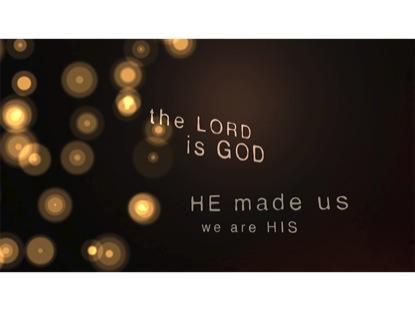 CALL TO WORSHIP PRAISE HIM