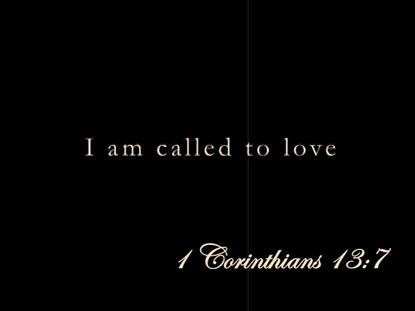 I AM CALLED