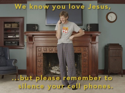 MORNINGS WITH JESUS | CELL PHONE PSA