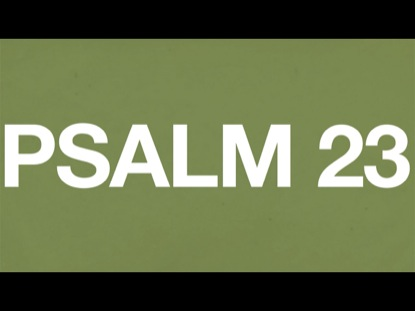 Preview for PSALM 23