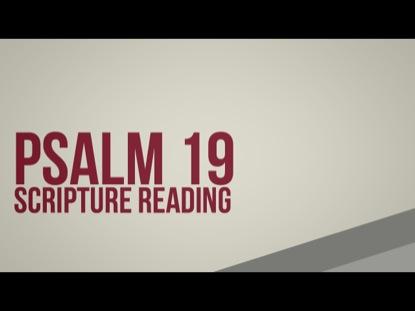 PSALM19