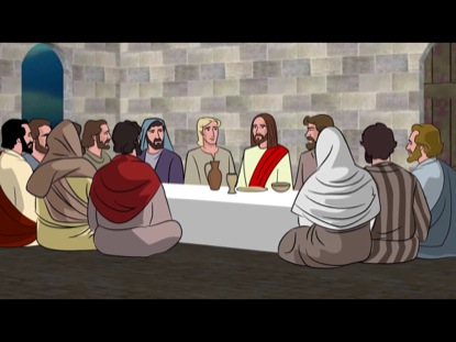 the story behind the painting of the last supper The last supper is a painting by leonardo da vinci the scene shows a rectangular room with 3 windows behind the people leonardo way of telling the story is very different from all the other artist, it unique and meaningful.