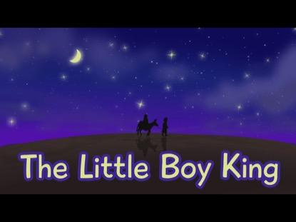 THE LITTLE BOY KING