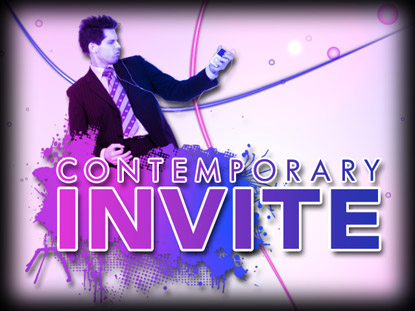 CONTEMPORARY INVITE