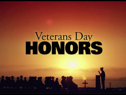 Preview for VETERANS DAY HONORS