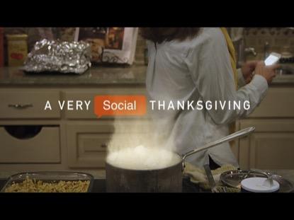 A VERY SOCIAL THANKSGIVING