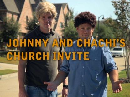 JOHNNY AND CHACHI CHURCH INVITE