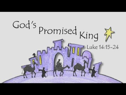 GOD'S PROMISED KING