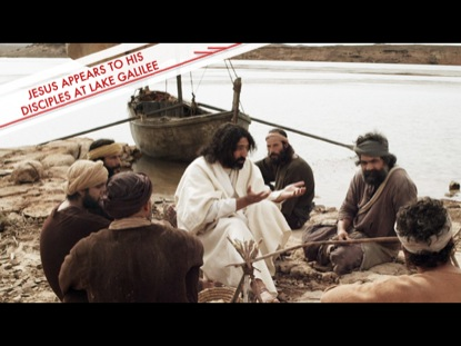 Preview for JESUS APPEARS TO HIS DISCIPLES AT LAKE GALILEE