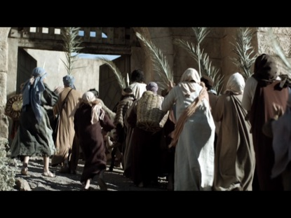 Preview for JESUS' TRIUMPHAL ENTRY