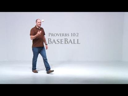 BASEBALL PROVERB