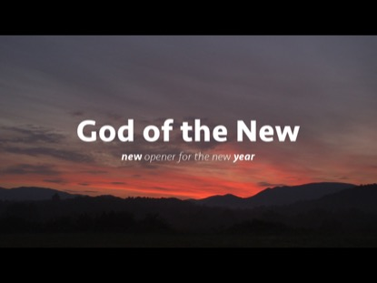 GOD OF THE NEW YEAR