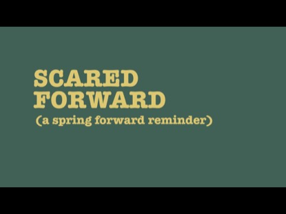 SCARED FORWARD