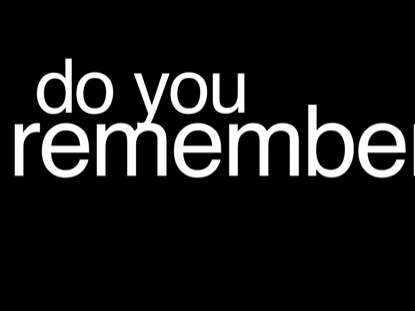 DO YOU REMEMBER - FATHER'S DAY