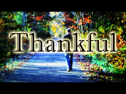 THANKFUL IN ALL CIRCUMSTANCES