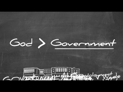 GOD IS GREATER THAN THE GOVERNMENT