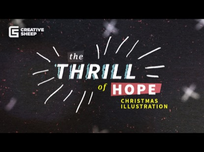 THRILL OF HOPE