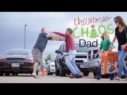 CHRISTMAS CHAOS DAD