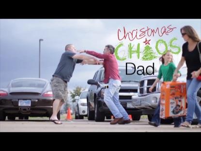 CHRISTMAS CHAOS DAD