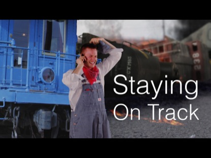 Preview for STAYING ON TRACK