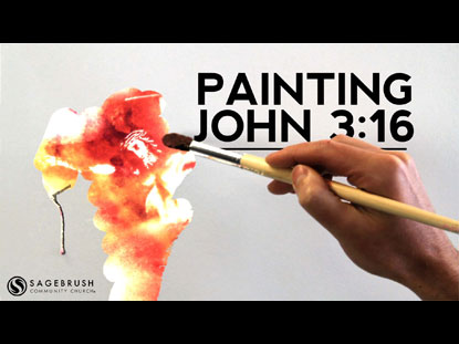 PAINTING JOHN 3:16