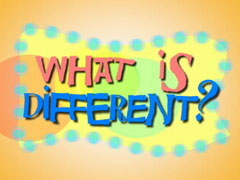 WHAT IS DIFFERENT?