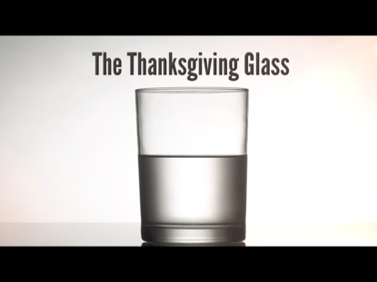 THANKSGIVING GLASS