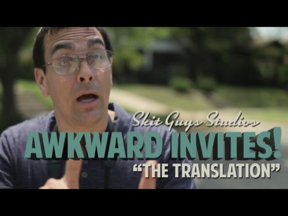 Preview for AWKWARD INVITES: THE TRANSLATION