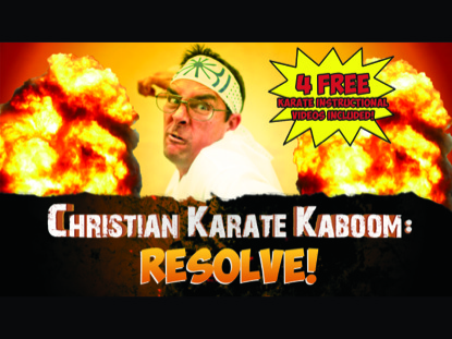 Preview for CHRISTIAN KARATE KABOOM: RESOLVE